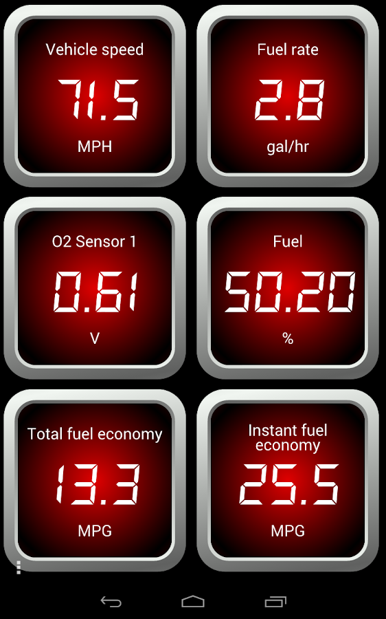 OBD Fusion (Car Diagnostics)- screenshot