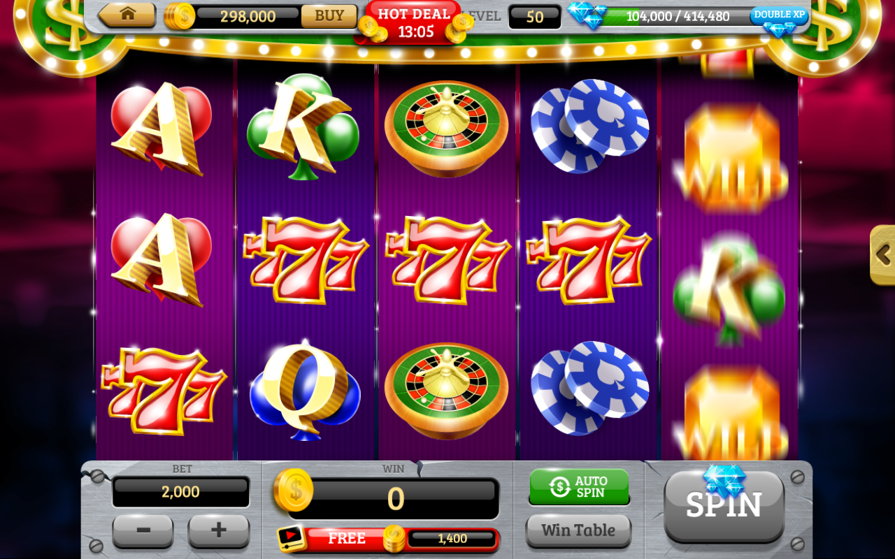 Slot machine apps for android
