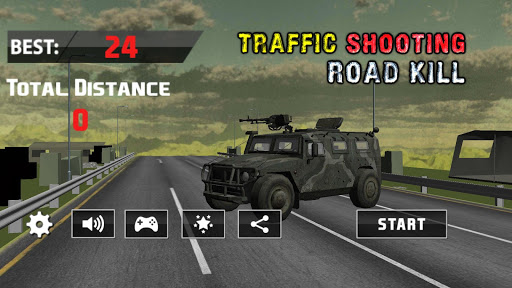 トラフィックハンター: 道路 狙撃シュータ: Hunter