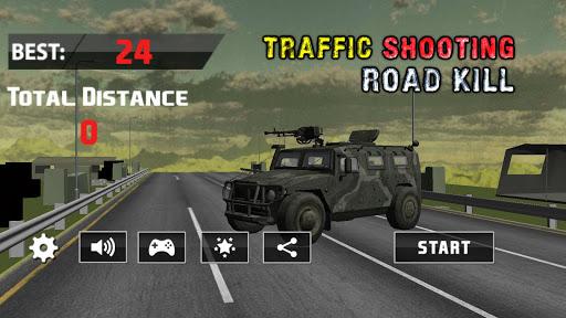 Road Traffic Hunter; Shooting