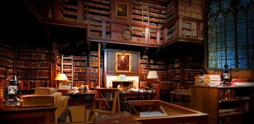 Descargar Art Live Wallpaper Of Hogwarts Library Para Pc