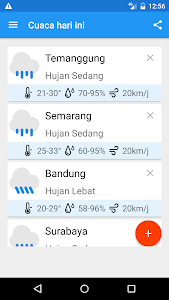 Indonesian Weather (BMKG) screenshot 0