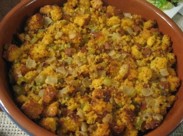 Mama's Cornbread Dressing Recipe