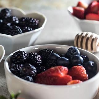 Triple Berries & Cream with Raw Honey.