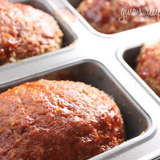 Petite Turkey Meatloaves
