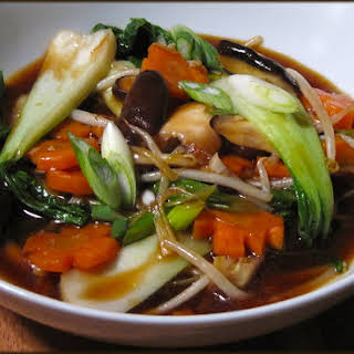 Chinese Vegetables In Brown Sauce Recipes.