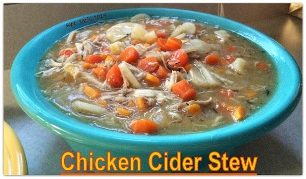 Chicken Cider Stew Recipe