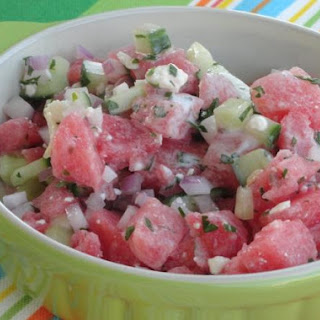 Dog-Days Watermelon Salad