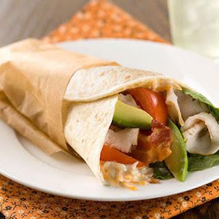 Turkey Cobb Lettuce Wraps.