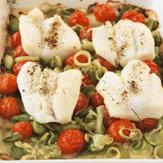 Baked Sea Bass Fillets