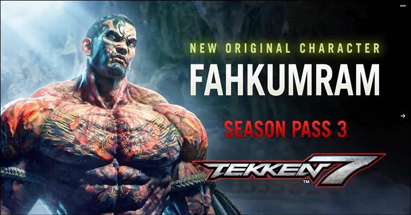Tekken 7 เปิดตัวนักมวยไทย Fahkumram อาละวาดในศึกกำปั้นเหล็ก!
