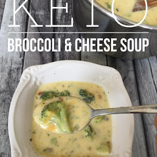 Keto Broccoli & Cheese Soup {low carb}.