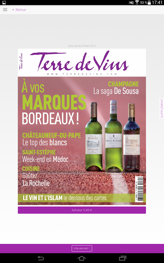 Terre de Vins- screenshot