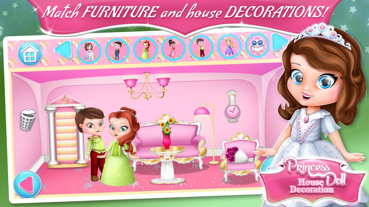 Princess Doll House Decoration Android Apps On Google Play