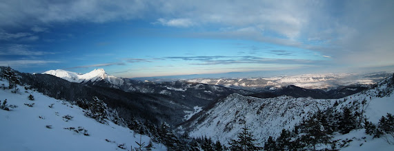 Photo: Panorama z Przełęczy miedzy Kopami