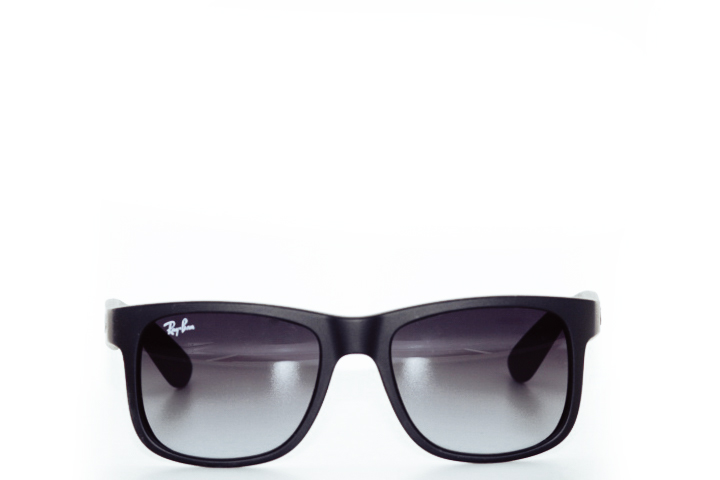 Ray Ban Justin Black Mat Gradient