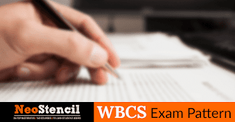 WBCS exam pattern for state civil services