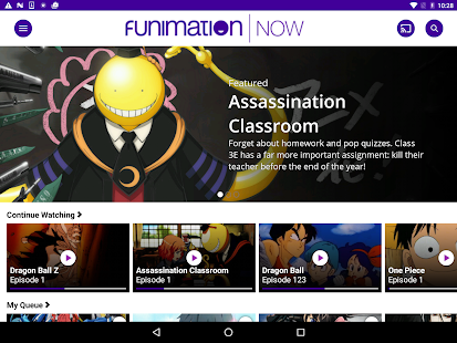 FunimationNow- screenshot thumbnail