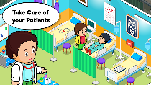 ud83cudfe5 My Hospital Town: Free Doctor Games for Kids ud83cudfe5 Apk 2