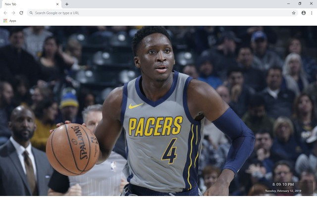 Victor Oladipo NBA New Tab