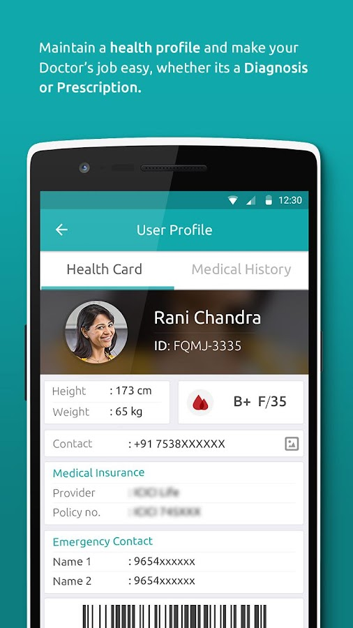 JioHealthHub- screenshot