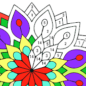 Adult Color By Number Book - Paint Mandala Pages Android APK Download Free By Coloring By Number - Pixel Art Games : Next Tech