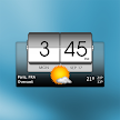 3D Flip Clock & Weather APK