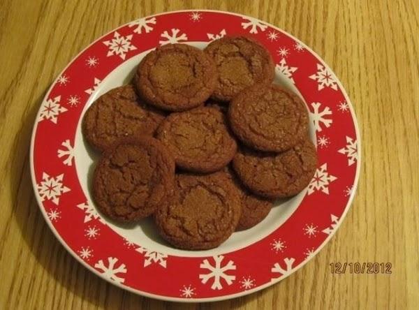 Molasses Crinkles Recipe