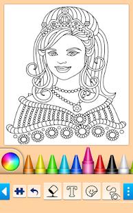 Prenses Oyunu Boyama Hileli Apk Indir 1066