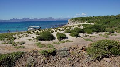 Photo: Isla Monserrat landing
