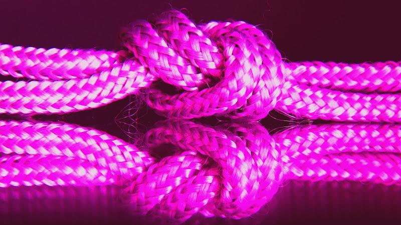 Corde rosa annodate di marvig51