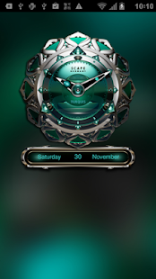 TRIQUA Luxury Clock Widget- screenshot thumbnail