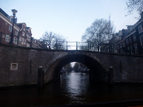 Photo: Amsterdam has more canals than Venice