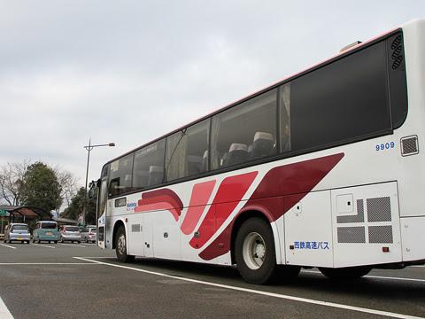 西鉄高速バス「フェニックス号」 9909 えびのPAにて_03