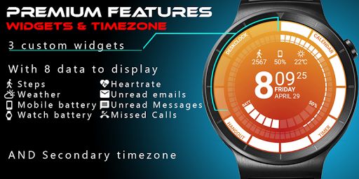 Venom Watch Face 1.2.22.130 screenshots 3