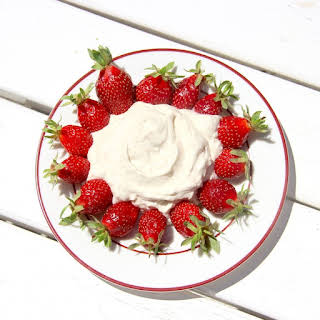 Coconut Sugar Whipped Cream that stays Firm!.