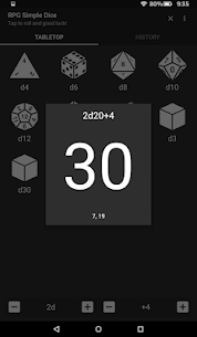 RPG Simple Dice Apk for Android. [DND 5E compaitable] 9