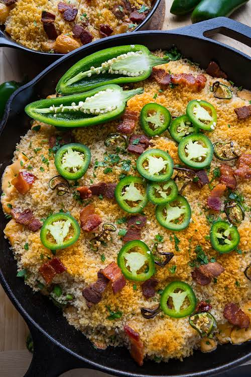 """Jalapeno Popper Mac and Cheese """"This mac and cheese covers all of..."""