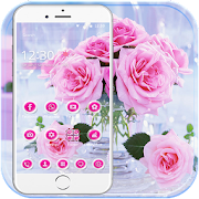 App Pink Rose Love Theme APK for Windows Phone
