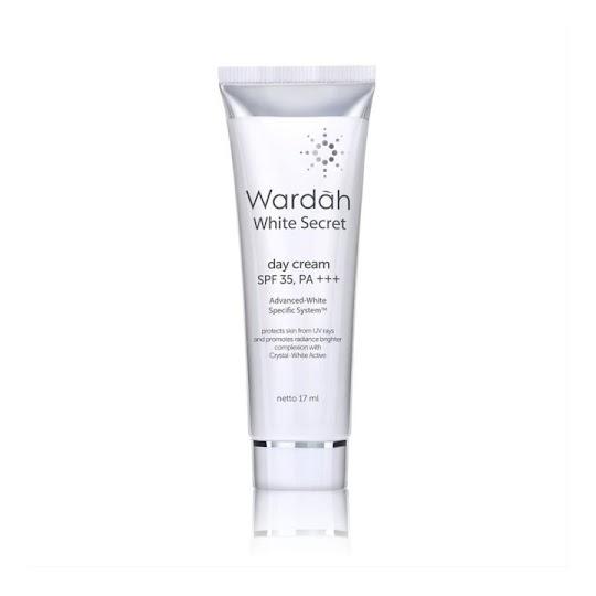 Day Cream Spf 35 Pa Cream Siang Wardah White Secret 17 ml krim siang melembabkan memutihkan kulit wajah