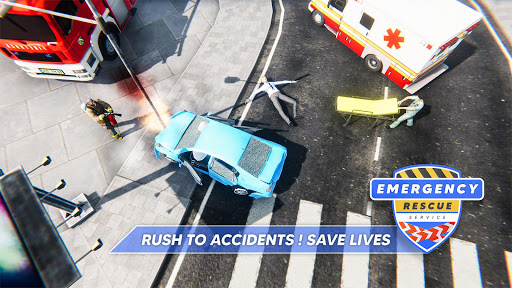Emergency Rescue Service- Police, Firefighter, Ems screenshots 2