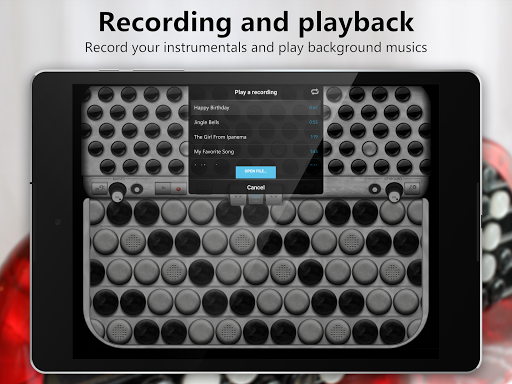Accordion Chromatic Button Screenshot