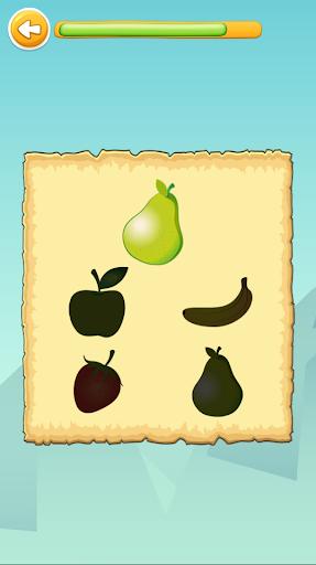 Carakuato frutas y verduras - juegos para niños capturas de pantalla 8