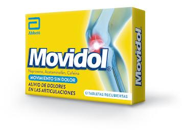 Movidol 250mg Tableta   Caja x12tab. LAF Naproxeno Acetaminofén Cafeína