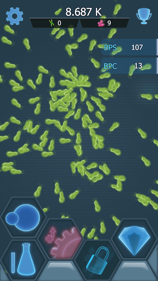 Bacterial Takeover- screenshot