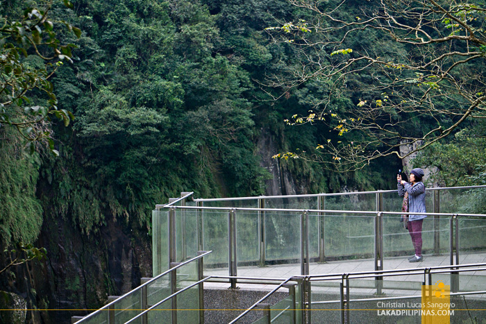 Shifen Waterfall Viewing Deck