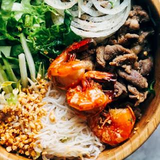 Low Carb Vietnamese Noodle Bowl Salad [Recipe].