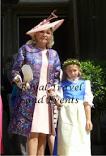 Photo: Princess Beatrice of France, Countess of Evreux with her granddaughter Almudena Dailly