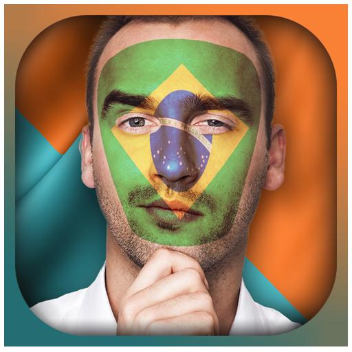 国旗合成照片- 面部彩绘 攝影 App LOGO-硬是要APP