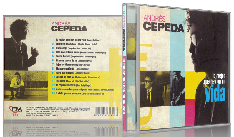 Andrés Cepeda - Lo Mejor Que Hay En Mi Vida (2012) [MP3 @320 Kbps]